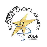 Reader's Choice Winner - 2014