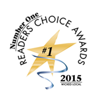 Reader's Choice Winner - 2015